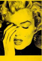 Marilyn Crying (Mulholland Yellow)