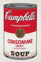 WARHOL, ANDY ◊ Campbell`s Soup (Beef Consommé)