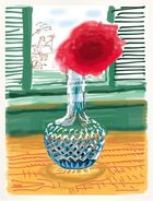 Galerie Frank Fluegel - David Hockney - iPad-Drawing 'No. 281', 23rd July 2010, 2019
