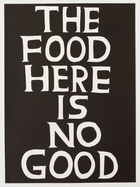 SHRIGLEY, DAVID ◊ The food here is no good