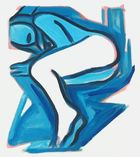 WESSELMANN, TOM ◊ Blue Nude No. 3