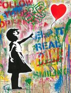 Mr. Brainwash - Balloon Girl