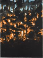 Alex Katz Sunrise Woodcut