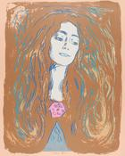 Andy Warhol, Eva Mudocci (After Munch), 1984