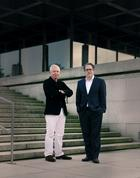 David Chipperfield und Udo Kittelmann