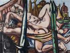 Max Beckmann, Messingstadt, 1944