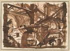 Giovanni Battista Piranesi, Architekturphantasie, 1750er Jahre