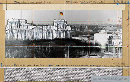 Christo - Wrapped Reichstag