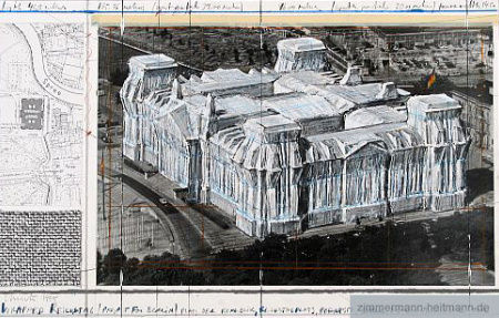 Christo - Wrapped Reichstag I