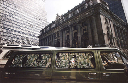 Green Van, #1 Broadway, New York City, 1976