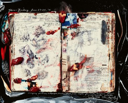 Peter Beard, Diary Page, Thurs - Friday June 27-28, '91, 1991