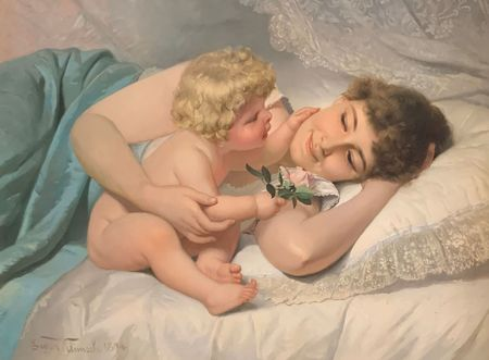 Motherly Love, 1894