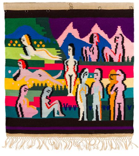 Ernst Ludwig Kirchner 1880–1938, Lise Gujer 1893–1967, Bergwiese mit Frauen, 1925/26